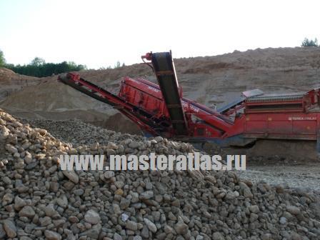 Переработка песчано-гравийных материалов